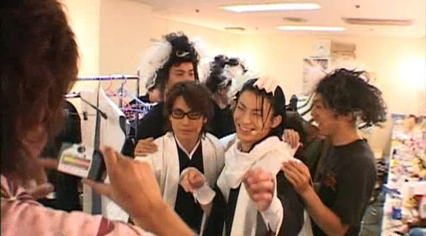 Rock Musical Bleach: SAIEN (backstage)